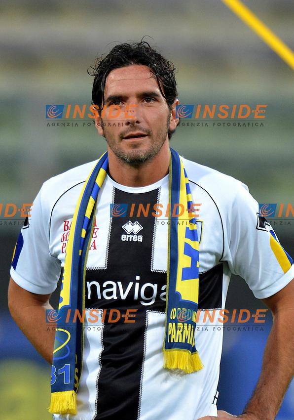 "Alessandro LUCARELLI.Parma 12/8/2011 Stadio ""Tardini"".Gara amichevole .Football Calcio Parma Vs Levante.Foto Insidefoto Alessandro Sabattini..."