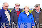 Tommy Quilter, Michael Breen, Bridie Conway and John Horgan, pose for a photo at Lixnaw coursing on Sunday....   Copyright Kerry's Eye 2008