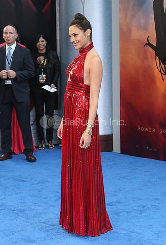 HOLLYWOOD, CA - MAY 25: Gal Gadot, at the Wonder Woman Los Angeles Film Premiere at The Pantages in Hollywood, California on May 25, 2017. Credit: Faye Sadou/MediaPunch