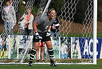 09 November 2008: Virginia Tech's Kristin Carden. The University of North Carolina Tarheels defeated the Virginia Tech University Hokies 3-0 at WakeMed Stadium at WakeMed Soccer Park in Cary, NC in the women's ACC tournament championship game.