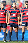 16 November 2013: Liberty's Rebekah Page. The University of North Carolina Tar Heels hosted the Liberty University Flames at Fetzer Field in Chapel Hill, NC in a 2013 NCAA Division I Women's Soccer Tournament First Round match. North Carolina won the game 4-0.