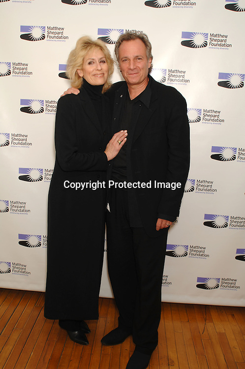 "Judith Light and  husband Robert Desiderio..At The The Matthew Shepard Foundation Presents ..An Evening Honoring ""The Laramie Project"" on    December 1, 2006 at Town Hall in New York...Robin Platzer, Twin Images"