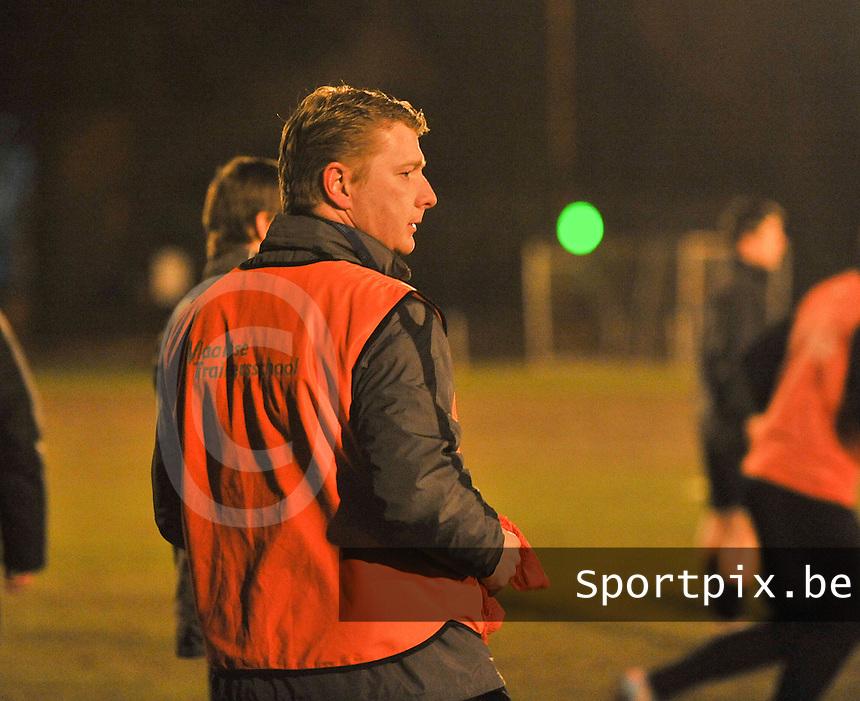 Torhout KM : nieuwe trainer Dieter Lauwers.foto VDB / BART VANDENBROUCKE