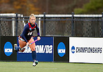 EASTON, MA - NOVEMBER 20:  Rachel Moore (16) of Shippensburg University carries the ball during the NCAA Division II Field Hockey Championship at WB Mason Stadium on November 20, 2016 in Easton, Massachusetts.  Shippensburg University defeated LIU Post 2-1 for the national title. (Photo by Winslow Townson/NCAA Photos via Getty Images)