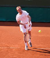 08-07-13, Netherlands, Scheveningen,  Mets, Tennis, Sport1 Open, day one,Sander Groen (NED)<br /> <br /> <br /> Photo: Henk Koster