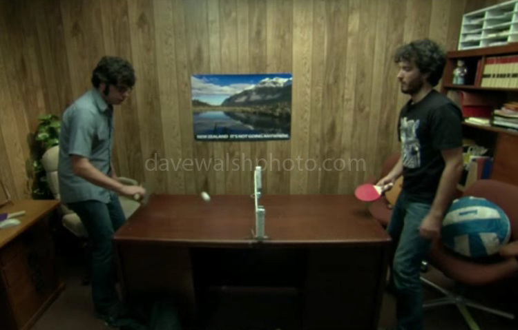 Image of Mirror Lake used in HBO Series Flight of the Conchords. Photograph on wall of Murray Hewitt's office taken by Dave Walsh<br /> &quot;New Zealand: It's Not Going Anywhere&quot;,  episode #16 (Series 2, episode 4) &quot;Murray Takes it to the Next Level&quot;