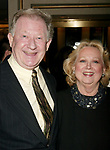 Harvey Evans and Barbara Cook attending the Opening Night Performance of the new Andrew Lloyd Webber Broadway Musical, THE WOMAN IN WHITE at the Marquis Theatre in New York City.<br />