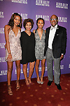 """Almaz Strachan, Marc Strachan and their daughters arrive at the Alvin Ailey American Dance Theater """"Modern American Songbook"""" opening night gala benefit at the New York City Center on November 29, 2017."""