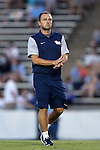 16 September 2016: Pitt assistant coach Lukas Petersen. The University of North Carolina Tar Heels hosted the University of Pittsburgh Panthers in Chapel Hill, North Carolina in a 2016 NCAA Division I Men's Soccer match. UNC won the game 1-0.