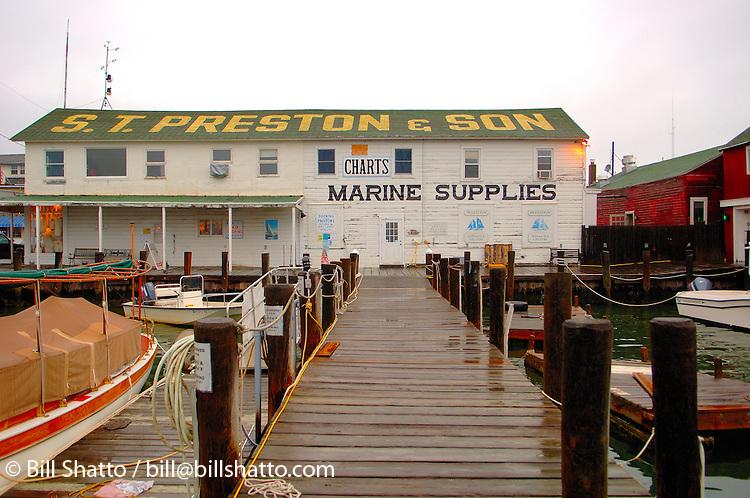 Preston & Son Marine Supplies, Greenport, NY.