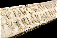 BNPS.co.uk (01202 558833)<br /> Pic: Hansons/BNPS<br /> <br /> Weighty find - 85lb Roman lead from a Somerset mine turns up 2000 years later.<br /> <br /> A treasure hunting bricklayer who unearthed a 2,000-year-old Roman ingot on a farm is now set to profit at auction.  <br /> <br /> Jason Baker found the 2ft long lead bar with his metal detector on a routine rally in the Mendip Hills near Wells, Somerset, last year.<br /> <br /> Amazingly the ingot is still inscribed with the name of emperor Marcus Aurelius Armeniacus dating it to 164 AD, and would have been destined for Imperial Rome had it not been lost at the time.<br /> <br /> It will be sold in Etwall, just outside Derby in Derbyshire, on March 22, when it's expected to fetch &pound;15,000.