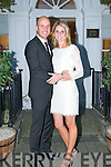 Tadgh Kennelly and his bride Nicole Noonan who were married in Australia recently pictured in the  Listowel Arms Hotel on Saturday last.