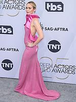 LOS ANGELES, EUA, 27.01.2019 - PREMIAÇÃO-EUA - A atriz Emily Blunt durante tapete vermelho do 25º Anual Screen Actors Guild Awards, realizada no Shrine Auditorium em Los Angeles nos Estados Unidos na noite de ontem domingo, 27. (Foto: Brazil Photo Press)