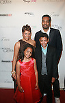 Honoree April Woodard and Family attend COVERGIRL Queen Collection Presents The 2nd Annual Blackout Awards Held at Newark Hilton Gateway, NJ  6/12/11