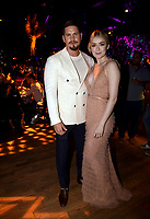 """LOS ANGELES - AUGUST 27: JD Pardo and Sarah Bolger attend the post party at Sunset Room Hollywood following the season two red carpet premiere of FX's """"Mayans M.C"""" on August 27, 2019 in Los Angeles, California. (Photo by Frank Micelotta/FX/PictureGroup)"""