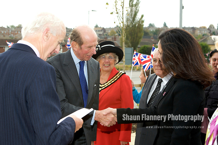 Pix: Shaun Flannery/shaunflanneryphotography.com...COPYRIGHT PICTURE>>SHAUN FLANNERY>01302-570814>>07778315553>>..20th October 2009...............NHS Doncaster, opening of The Martinwells Centre, Edlington by HRH The Duke of Kent..