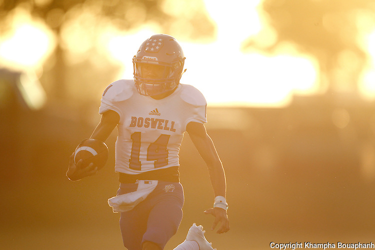 Boswell plays Birdville in high school football in North Richland Hills on Thursday, September 8, 2016. Birdville won 35-13.