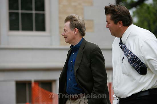 San Angelo - a 14-day hearing at the 51st District (Tom Green County) Courthouse to decide the fate of 416 children removed in a raid from the FLDS Church's YFZ Ranch. Thursday April 17, 2008.  Rod Parker, Willie Jessop