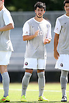 31 August 2014: Loyola-Marymount's Luc Brubaker. The Elon University Phoenix played the Loyola Marymount University Lions at Koskinen Stadium in Durham, North Carolina in a 2014 NCAA Division I Men's Soccer match. Elon won the game 1-0.