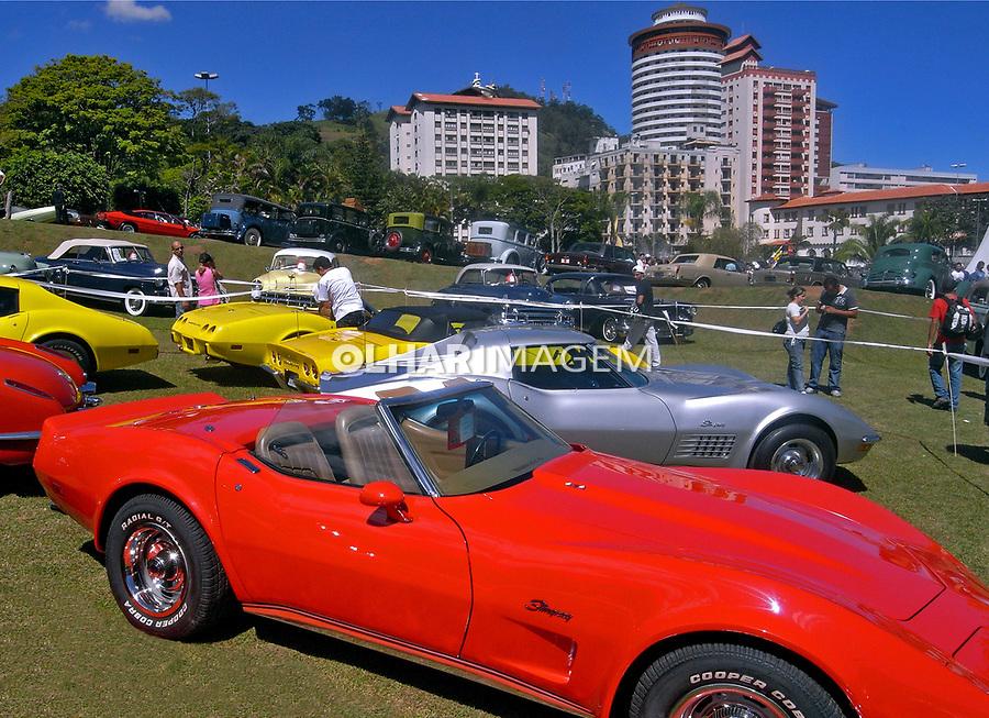 Exposição de carros antigos em Aguas de Lindoia. São Paulo. 2009. Foto de Flávio Bacellar.