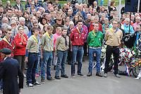 ALGEMEEN: JOURE: 04-05-2015, Kranslegging in Park Heremastate, ©foto Martin de Jong