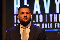 Joe Joyce during a Press Conference at the BT Studio on 9th May 2019