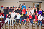NEW YEAR BIRTHDAY: Danny O'Shea, Casement Avenue, Tralee (seated centre) enjoying a great time celebrating his 40th birthday with family and friends at the Strand Road clubhouse, Tralee on New Year's eve..