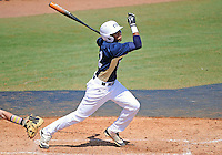 Florida International University infielder Julius Gaines (2) plays against ULM. FIU won the game 8-6 on April 1, 2012 at Miami, Florida.