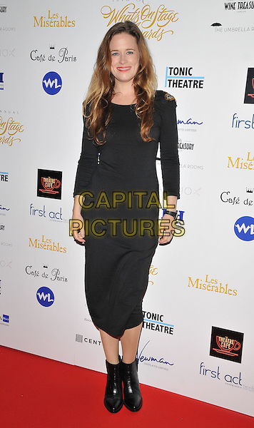 Katie Brayben attends the Whatsonstage.com Awards Concert 2016, Prince of Wales Theatre, Coventry Street, London, UK, on Sunday 21 February 2016.<br /> CAP/CAN<br /> &copy;CAN/Capital Pictures
