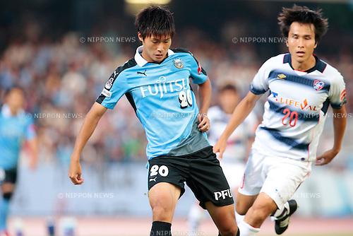 Shintaro Kurumaya (Frontale), <br /> JULY 11, 2015 - Football / Soccer : <br /> 2015 J1 League 2nd stage match <br /> between Kawasaki Frontale 2-0 F.C. Tokyo <br /> at Kawasaki Todoroki Stadium, Kanagawa, Japan. <br /> (Photo by AFLO SPORT)