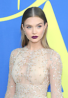BROOKLYN, NY - JUNE 4: Josephine Skriver at the 2018 CFDA Fashion Awards at the Brooklyn Museum in New York City on June 4, 2018. <br /> CAP/MPI/JP<br /> &copy;JP/MPI/Capital Pictures