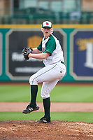 Fort Wayne TinCaps relief pitcher Tom Colletti (34) during a Midwest League game against the Kane County Cougars at Parkview Field on May 1, 2019 in Fort Wayne, Indiana. Fort Wayne defeated Kane County 10-4. (Zachary Lucy/Four Seam Images)
