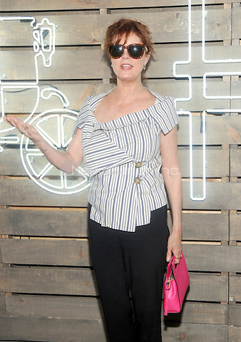 New York, NY- June 17: Susan Sarandon attends the 2014 Summer Party presented by Coach at friends of the Highline at the  Highline on June 17, 2014 in New York City .Credit: John Palmer/MediaPunch