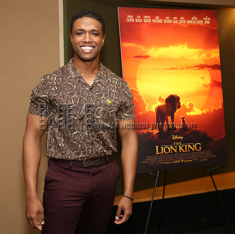 """L. Steven Taylor attends the Broadway screening of the Motion Picture Release of """"The Lion King"""" at AMC Empire 25 on July 15, 2019 in New York City."""