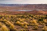 Silver mine in dry puna, Pirquitas Mine, Abra Granada, Andes, northwestern Argentina