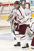 Kevin Hayes (BC - 12) - The Boston College Eagles defeated the University of Vermont Catamounts 4-1 on Friday, February 1, 2013, at Kelley Rink in Conte Forum in Chestnut Hill, Massachusetts.