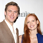 Dan Stevens & Jessica Chartain attending the Meet & Greet the Broadway Cast of 'The Heiress'  at the Empire Hotel in New York City on September 13, 2012