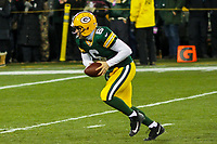 Green Bay Packers quarterback Joe Callahan (6) during a National Football League game against the Minnesota Vikings on December 23rd, 2017 at Lambeau Field in Green Bay, Wisconsin. Minnesota defeated Green Bay 16-0. (Brad Krause/Krause Sports Photography)