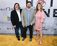 "09 May 2019 - Beverly Hills, California - Jeff Vintar, Brian Peterson, Kelly Souders. National Geographic Screening of ""The Hot Zone"" held at Samuel Goldwyn Theater. Photo Credit: Billy Bennight/AdMedia"