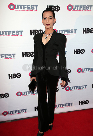 "LOS ANGELES, CA-  Armen Ra, At 2017 Outfest Los Angeles LGBT Film Festival - Closing Night Gala Screening Of ""Freak Show"" at The Theatre at Ace Hotel, California on July 16, 2017. Credit: Faye Sadou/MediaPunch"