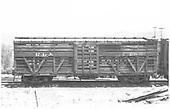 RGS stock car #7465 in Durango yard.<br /> RGS  Durango, CO  5/18/1947