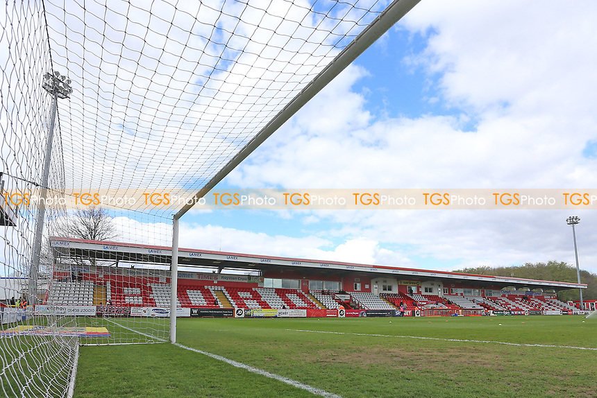 General view of the ground during Stevenage vs Barnet, Sky Bet EFL League 2 Football at the Lamex Stadium on 1st April 2017