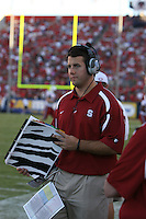 20 October 2007: Stanford Cardinal administrative assistant for football recruiting Coleman Hutzler during Stanford's 21-20 win against the Arizona Wildcats at Arizona Stadium in Tucson, AZ.