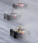 05 Apr 2009, Kuala Lumpur, Malaysia --- Drivers steer their cars through the rain during the race 1 of the FIA GP2 Asia Series 2009 at the Sepang circuit, near Kuala Lumpur. Photo by Victor Fraile --- Image by © Victor Fraile / The Power of Sport Images