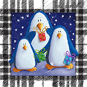 Isabella, CHRISTMAS ANIMALS, WEIHNACHTEN TIERE, NAVIDAD ANIMALES, paintings+++++,ITKE529640-L,#xa#, penguins