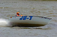 JS-7, Jersey Speed Skiff..2004 Madison Regatta, Madison, Indiana, July 4, 2004..F. Peirce Williams .photography.P.O.Box 455 Eaton, OH 45320.p: 317.358.7326  e: fpwp@mac.com.