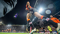 Picture by Allan McKenzie/SWpix.com - 07/10/2017 - Rugby League - Betfred Super League Grand Final - Castleford Tigers v Leeds Rhinos - Old Trafford, Manchester, England - Mike McMeeken comes out for the second half.