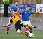 Jack Steele tackles Ian Black