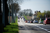 peloton convoy rollin' through the neighborhood<br /> <br /> 55th Brabantse Pijl 2015