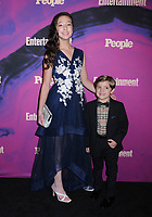 13 May 2019 - New York, New York - Aubrey Anderson-Emmons and Jeremy Maguire at the Entertainment Weekly & People New York Upfronts Celebration at Union Park in Flat Iron.   <br /> CAP/ADM/LJ<br /> ©LJ/ADM/Capital Pictures